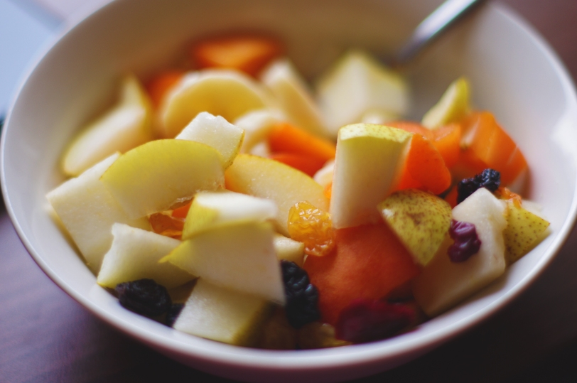 Morning Breakfast Fruit Salad