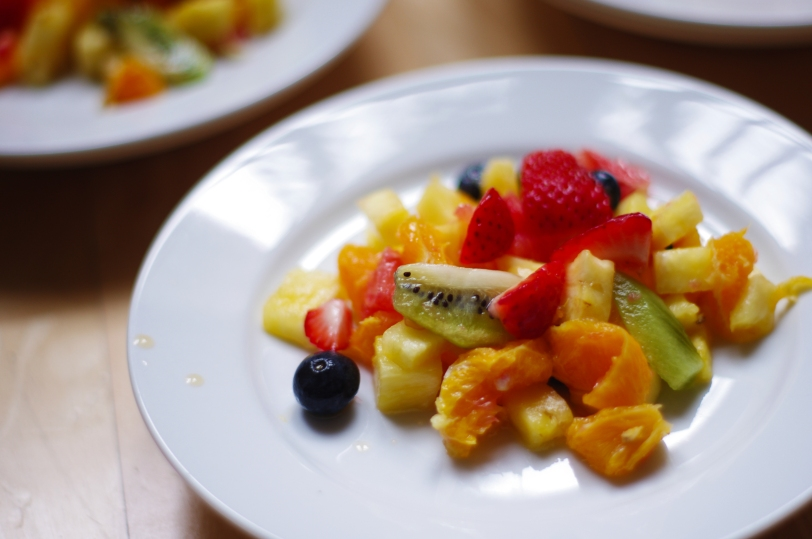 Raw Vegan Fruit Salad