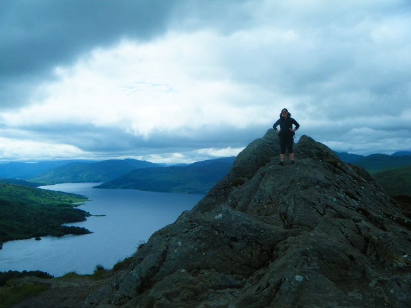 Ben A'an and Loch Katrine, Scotland