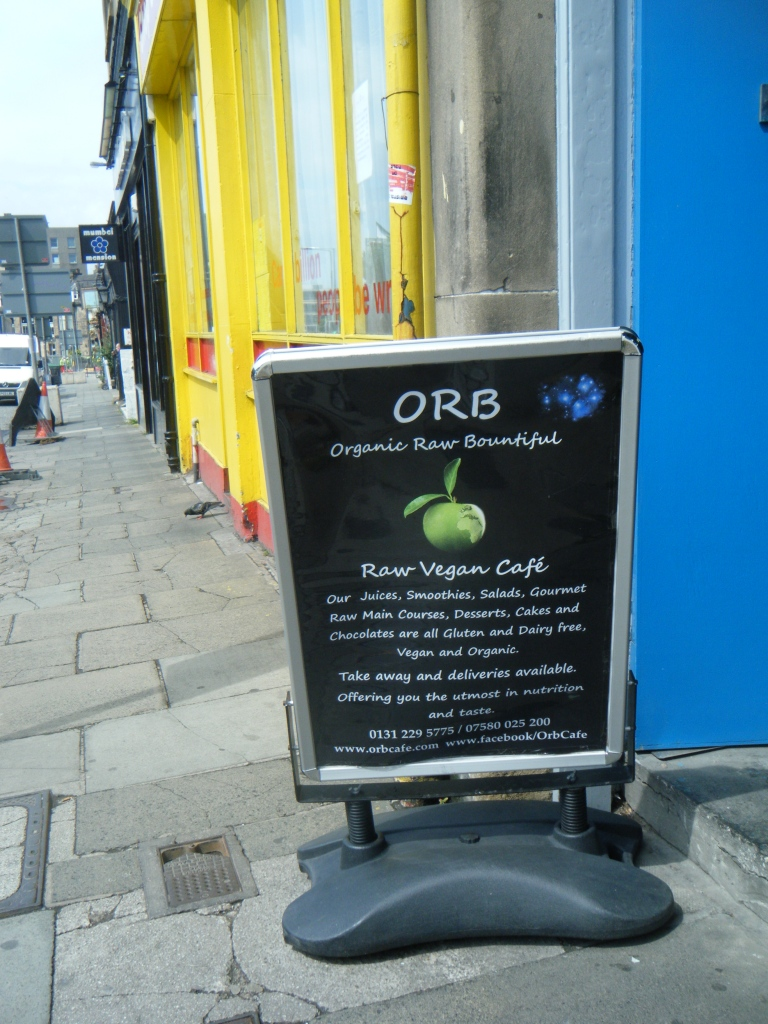 ORB Raw Food Cafe, Edinburgh